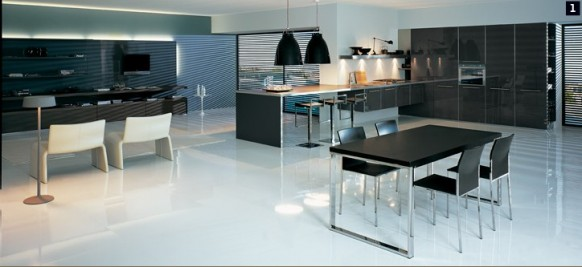 Luxurious modular kitchen design by comprex