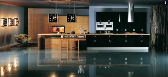 Luxurious kitchen design by comprex