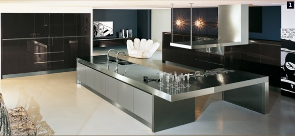 Luxurious kitchen design by comprex