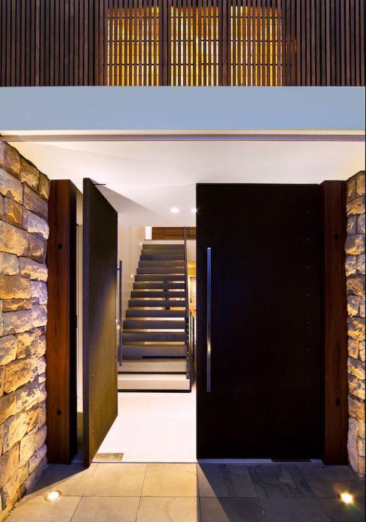 modern house door design Modern House