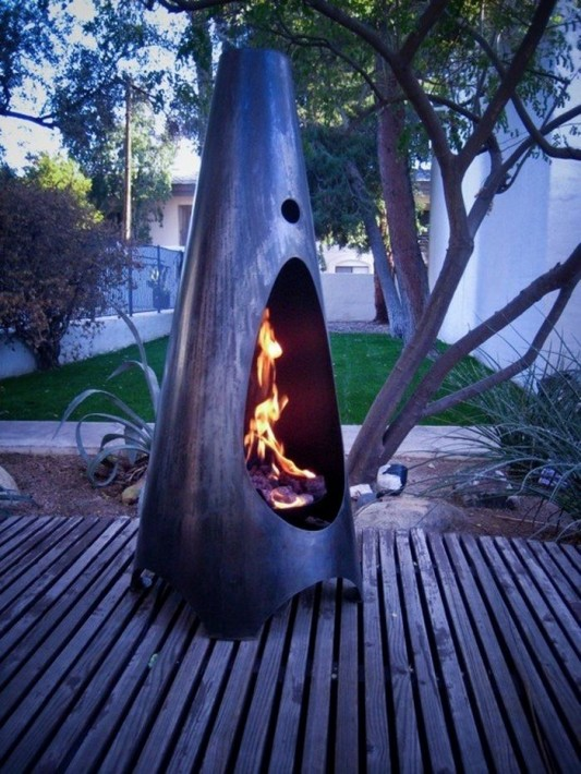 Naturally Modfire portable outdoor fireplaces