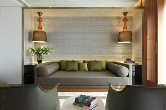 New Delhi Interior Design Ideas by Rajiv Saini comfortable grand master suite