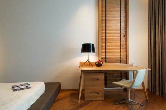 New Delhi Interior Design Ideas by Rajiv Saini contemporary desk