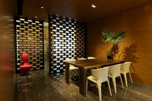 New Delhi Interior Design Ideas by Rajiv Saini dining room design