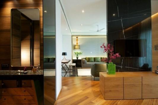 New Delhi Interior Design Ideas by Rajiv Saini interior partition