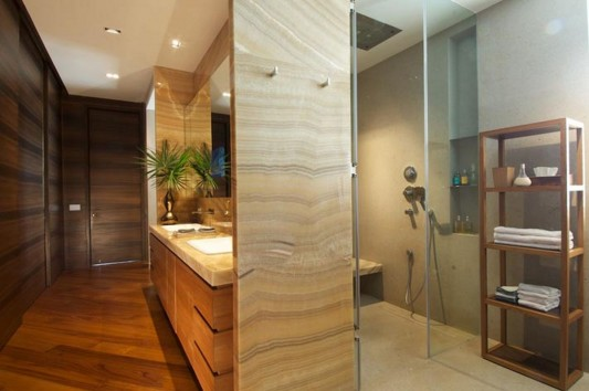 New Delhi Interior Design Ideas by Rajiv Saini modern bathroom