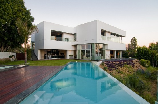 Modern California Houses Nightingale Drive House  Modern House Located In Sunset Strip