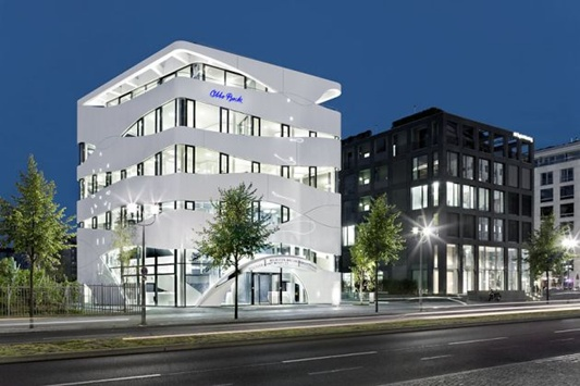 Otto bock healthcare modern design building by gnaedinger for Modern hospital building design