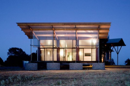 perforated metal screen house design ideas - Metal Home Designs