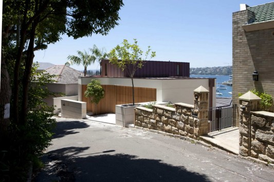Point Piper House by POPOVbass Architects exterior rear