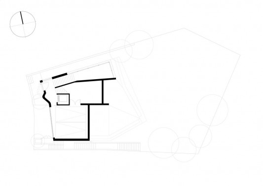 Point Piper House by POPOVbass Architects site plan