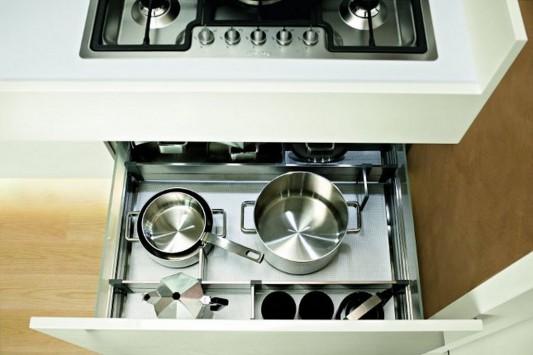 Practical kitchen drawer cabinet design