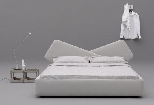 Ribbon new modern minimalist bed product