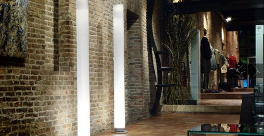 Sansone large Cylindrical Lamps design for terrace