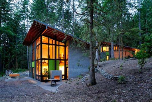 schell wheeler house mountain house design