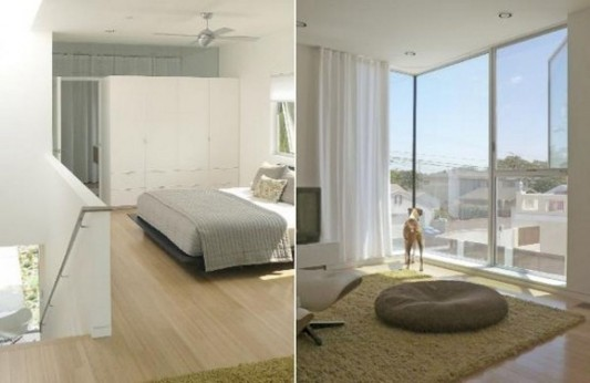 Small Beach House Transformation into modern design bedroom design ideas