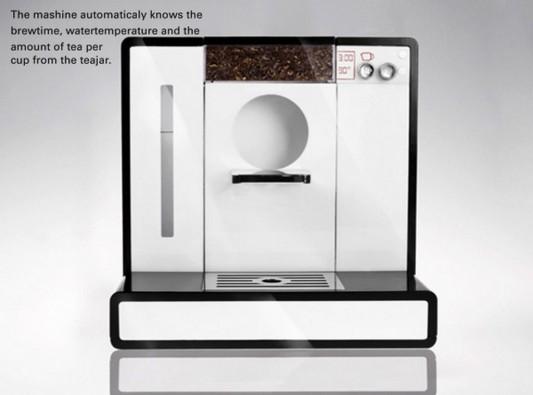 Tesera automatic tea machine automatically making tea