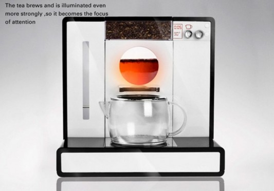 Tesera automatic tea machine compact design