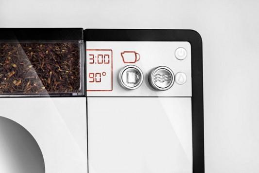 Tesera automatic tea machine control panel