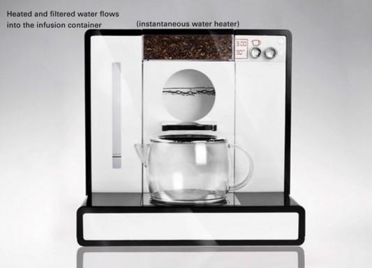 Tesera automatic tea machine minimalist design