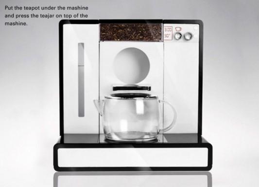 Tesera automatic tea machine practical design