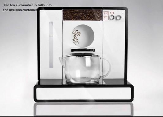 Tesera automatic tea machine step making tea