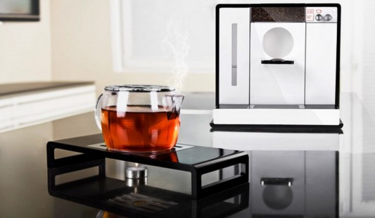 Tesera minimalist automatic tea machine