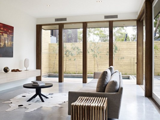 The Avenue Contemporary Multi Residence living room