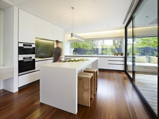 The Avenue Contemporary Multi Residence minimalist kitchen