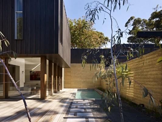 The Avenue Contemporary Multi Residence minimalist swimming pool