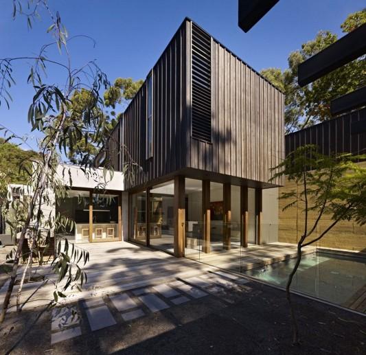 The Avenue Contemporary Multi Residence patio design ideas