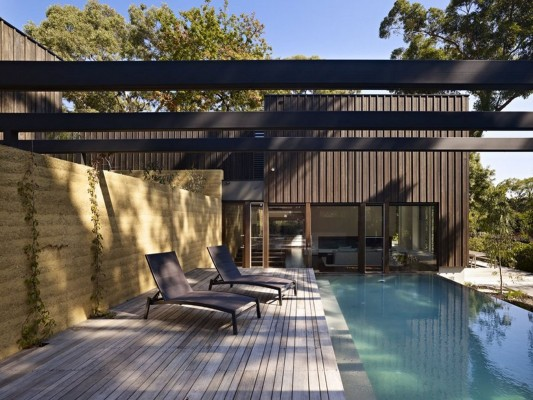 The Avenue Contemporary Multi Residence swimming pool deck ideas