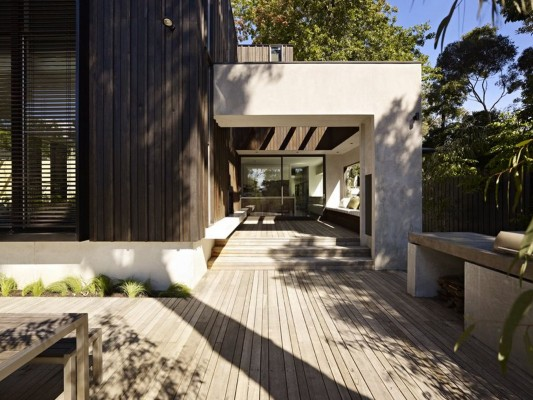 The Avenue Contemporary Multi Residence wooden patio and terrace floor