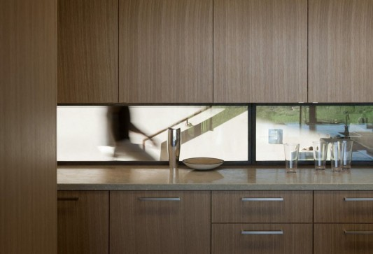 The Brown Residence by LakeFlato Architects kitchen cabinet