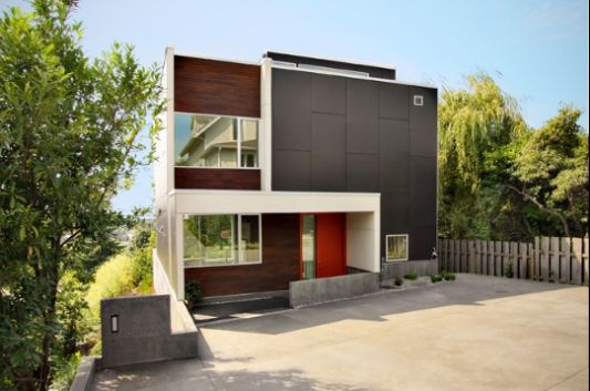 The Backyard House Extraordinary Modern Minimalist Home concept by