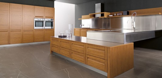 Treviso trendy and elegant classical modern kitchen