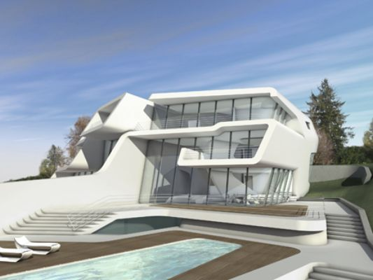 Two Exclusive Villas Design Kusnacht Villa By Zaha Hadid