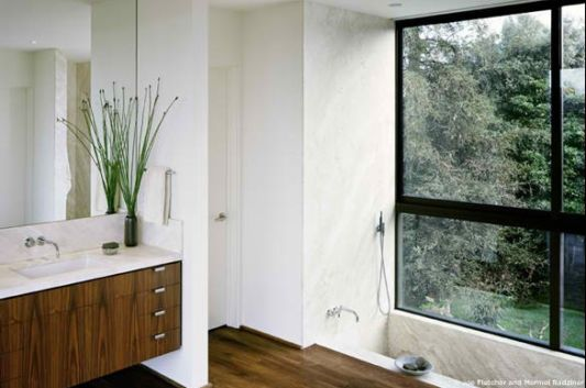 Vienna way residence bathroom design