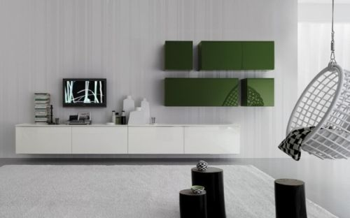 Wall Storage Design from Diotti AF Italy