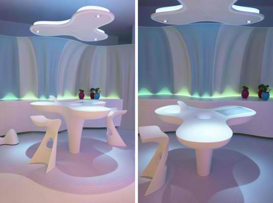 Wavy Modern Furniture Design