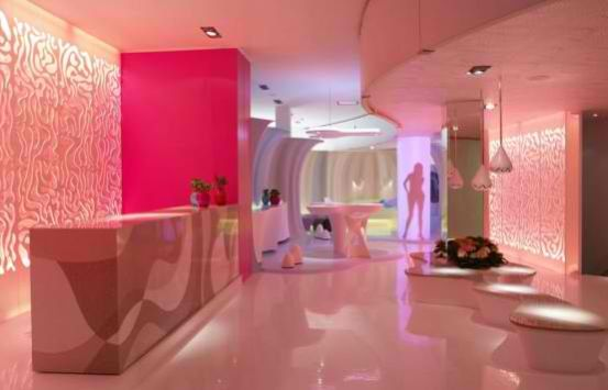 Soft colorful Modern Living Room By Karim Rashid - Home Design ...