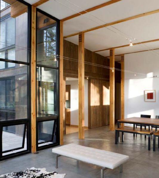 Weigel residence living room design