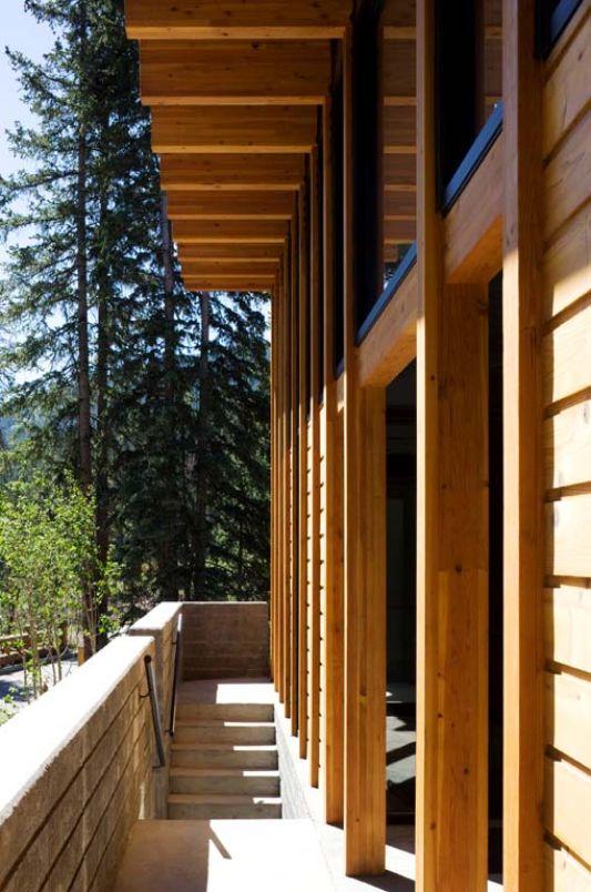 Weigel residence timber house design