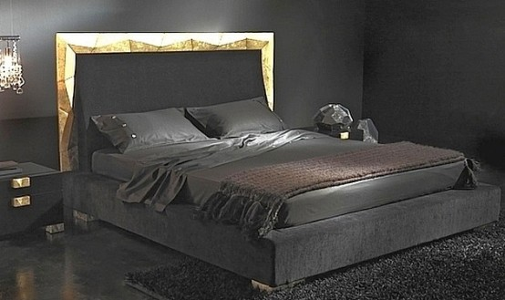 Why Not Choose Black as Favorite Bedroom and Furniture Sets