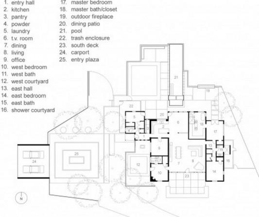 Winter Residence plans