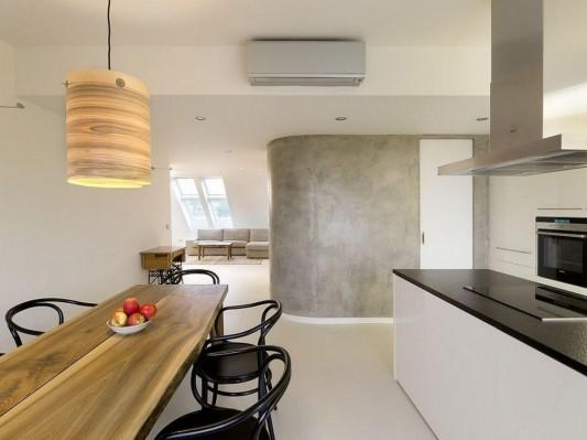 ZaoblenГЅ Loft Interior design ideas dining room