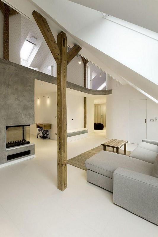 ZaoblenГЅ Loft apartment Design Naturally interior ideas