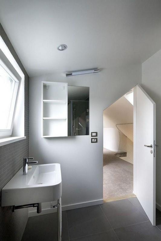 ZaoblenГЅ Loft naturally and modern bathroom