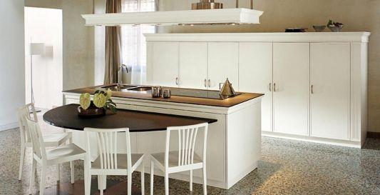 classic elegant italian renaissance kitchen design, florence