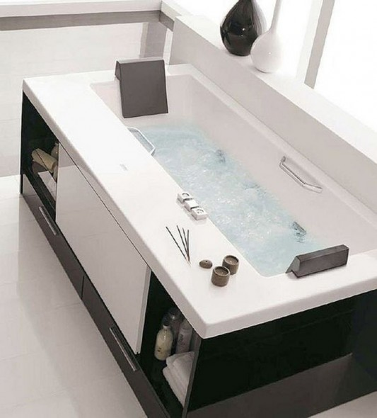 additional accessories drawer under tub by Royo Group